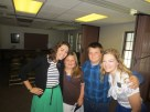 D- and G-, a member's kids who are being baptized on12 April. I love them so much, they are amazing examples to me :)