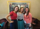 Look who I found! We had a great combined zone conference this week where I found two of my friends from Valdosta :) Sister Szilagyi (on the left) and Sister Jeppson (on the right)!