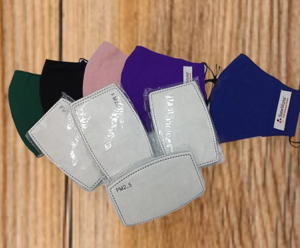 PM2.5 Filters for Sisterworks Face Masks (Pack of 10)