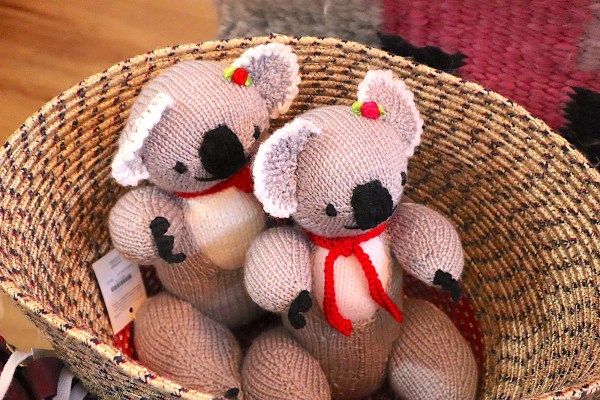Elizabeth - Knitted Toys
