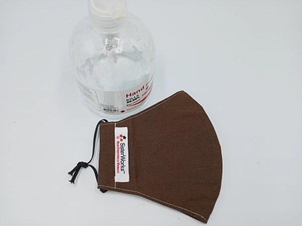 Reusable Washable Face Mask Cotton - Plain Colour