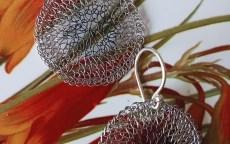 Pamela - Medium Wire Crochet Earrings