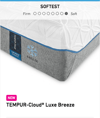 Tempurpedic Tempur Cloud Luxe Breeze Mattress Image