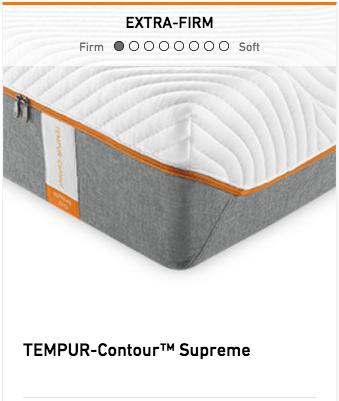 Tempurpedic Tempur Contour Supreme Mattress Image
