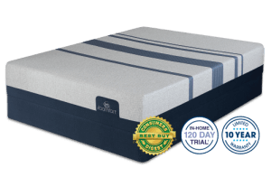Serta Icomfort Blue 300 Firm Mattress Image