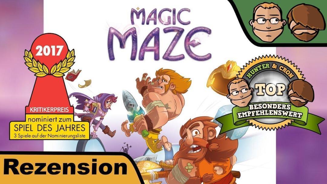 Magic Maze - Hunter & Cron