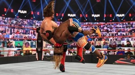 Styles tried to run the glove on RAW