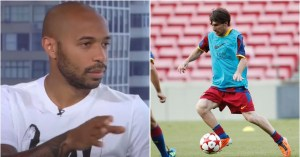 Lionel Messi: Thierry Henry 's iconic story about the Barcelona star in training