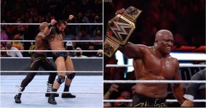 WrestleMania 37: Bobby Lashley retains WWE title in crazy circumstances after time delay