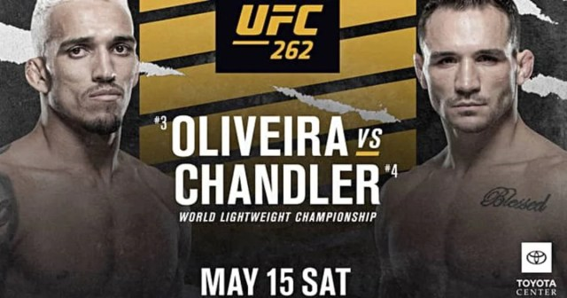 UFC 262: Chandler vs Oliveira: How to watch, UK start time, live stream & full undercard | GiveMeSport