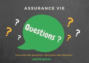 Questions d'assurance Vie