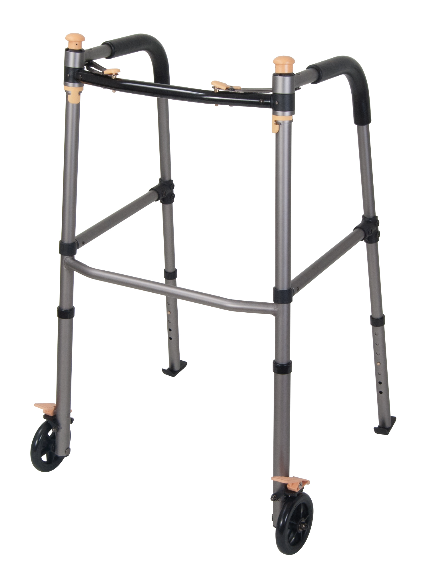 Lift Walker With Retractable Stand Assist Bars Lw