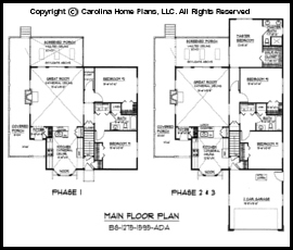 Small 2 bedroom house plans pdf for Small expandable house plans