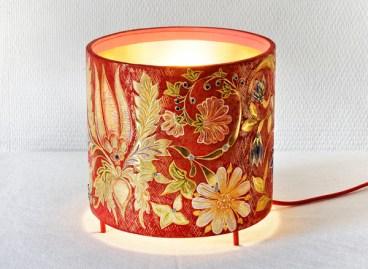 Lampe, création de l'atelier