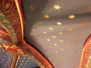 Voûte de la chapelle du château d'Etelan