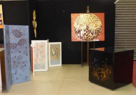 salon l'Art et la matière, parc expo de Rouen du 7 au 10 octobre 2016