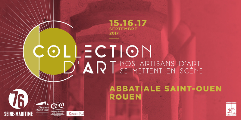 Collection d'art 2017, Abbatiale St Ouen de Rouen