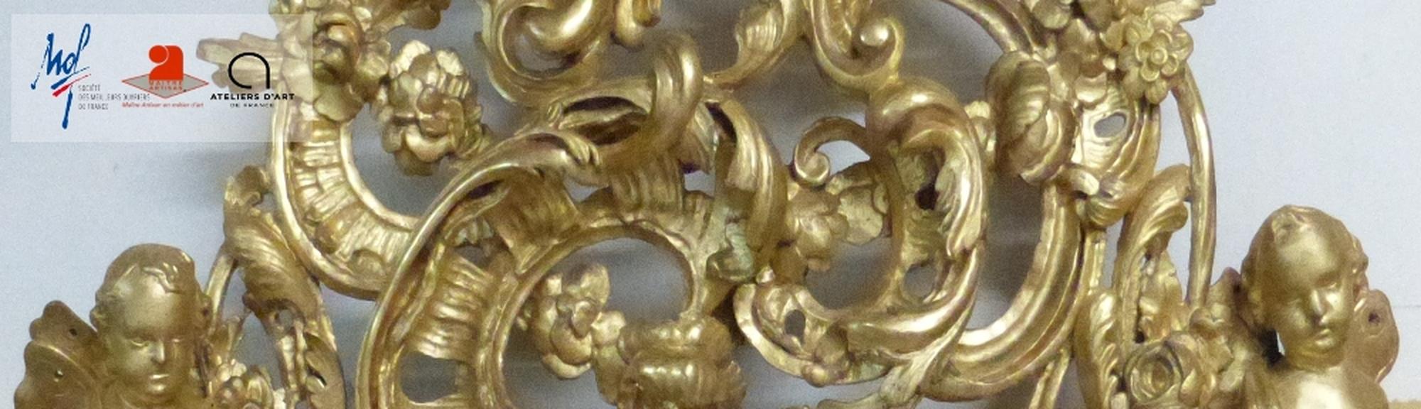 Miroir doré XVIIIème