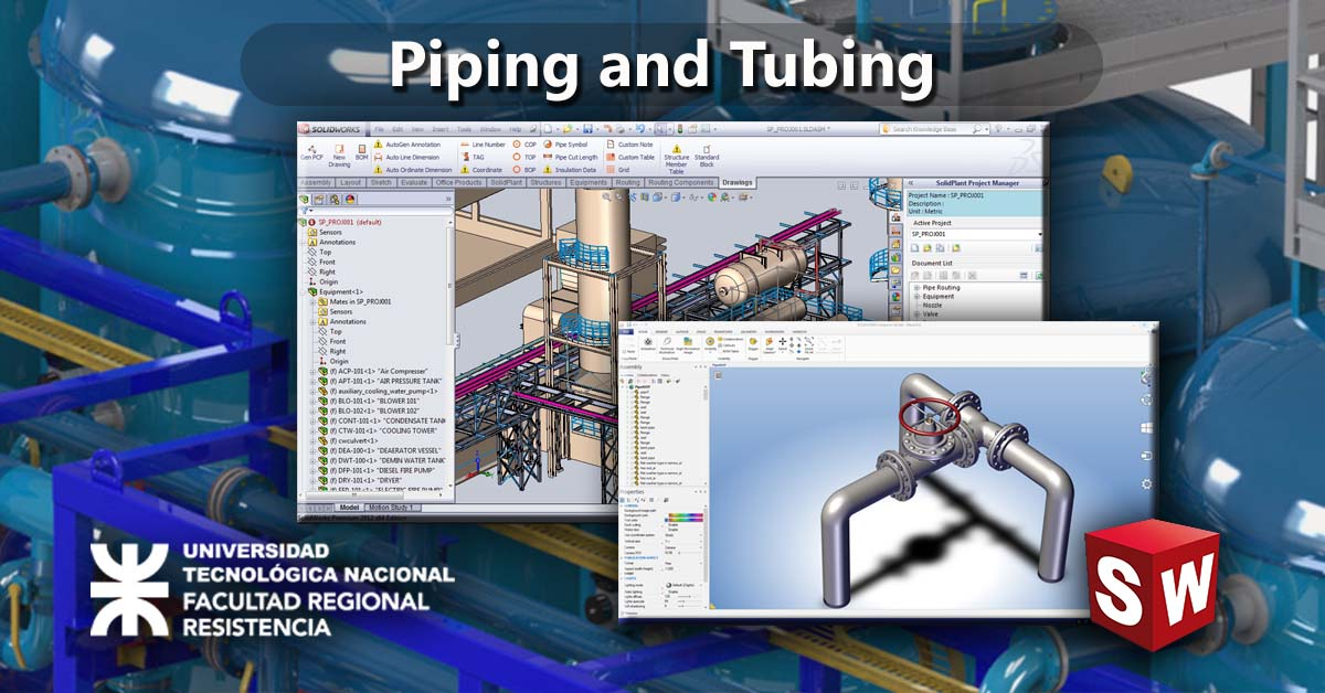 Piping & tubing con Solidworks®