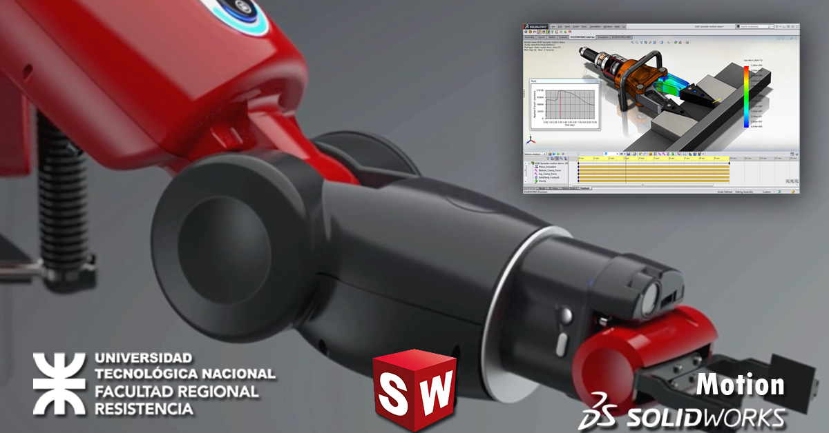 Mecánica computacional con Solidworks® Motion