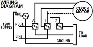 Intermatic T101R 120V 40Amp Timer Switch T101R NEW | eBay