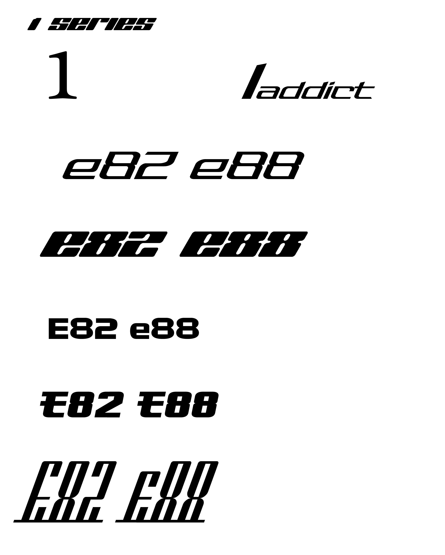 Custom 1addicts E88 E82 Tshirts Hoopolos