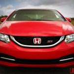 Usdm Fg4 Fb6 Civic Si 2012 15 Coupe Sedan Red H Front Emblem