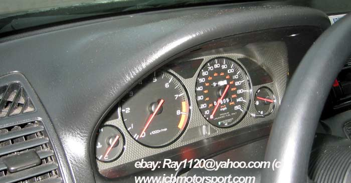 JDM Prelude Type S Carbon Fiber Bezel 220HP BB6 H22A S Spec