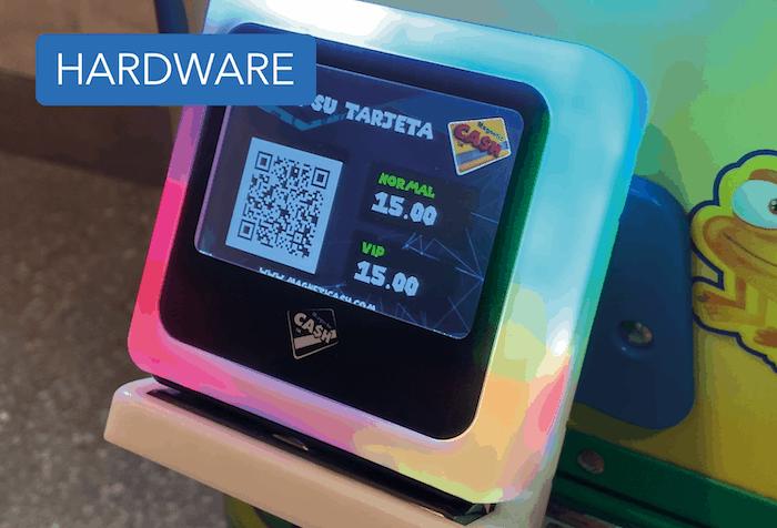 Hardware magnetic cash system