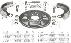 Willys Jeep Parts Diagrams & Illustrations from Midwest Jeep Willys