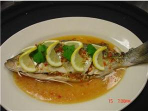 Steamed Rock Fish