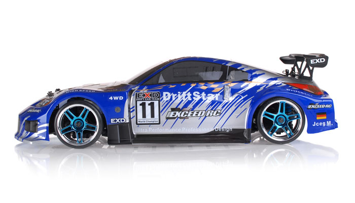 The All New Exceed Rc Drift Star Your Blazing