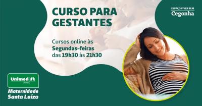 Unimed Litoral promove curso online para gestantes