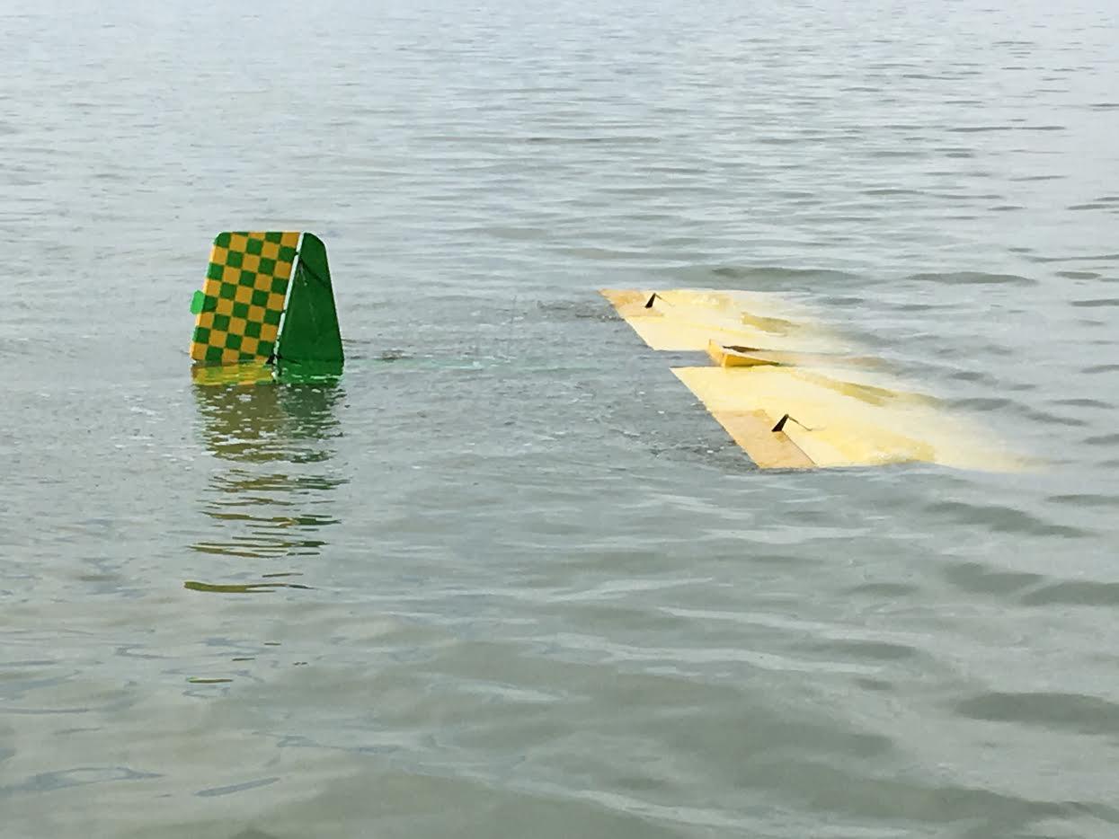 Great Salt Lake Floating