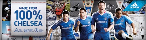 Chelsea adidas 2010/11 Home Jersey