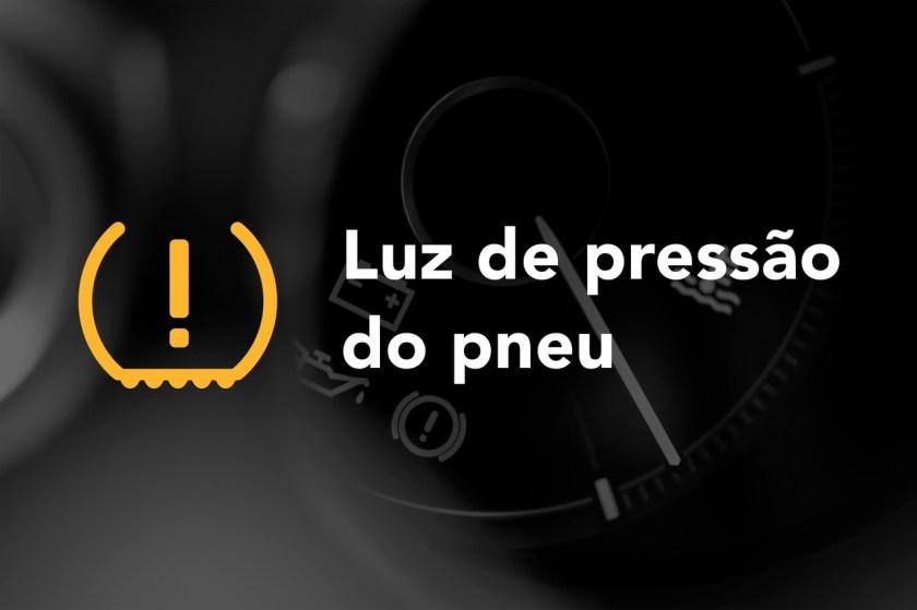 luz de pressao do pneu