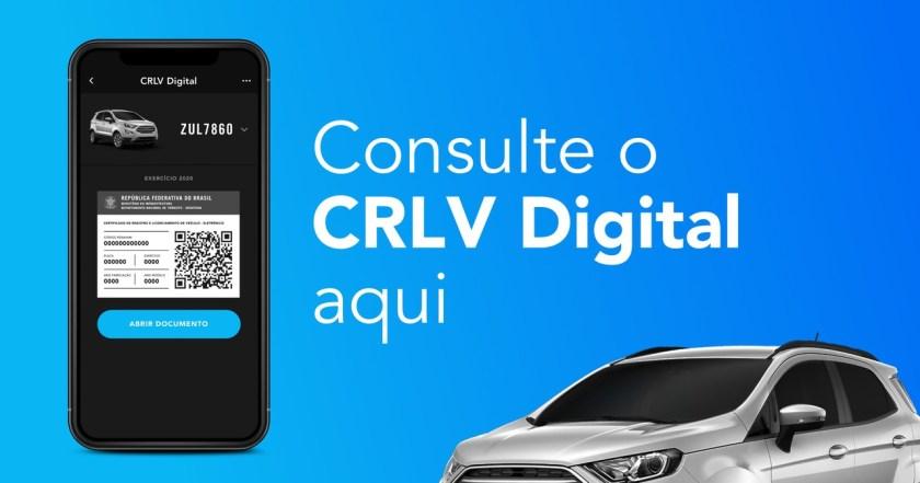 consulte o CRLV Digital aqui