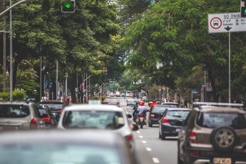 transito avenida ibirapuera sao paulo