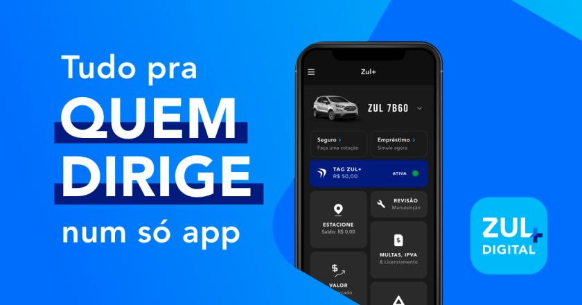 banner de download do app zul+ tudo pra quem dirige