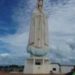 Estátua de Nossa Senhora de Fátima, no Crato