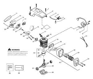Partner Formula 400 (952802119) Chainsaw ENGINE Spare
