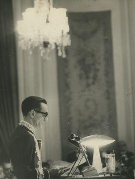 Posse de João Cabral de Mello Neto na ABL.