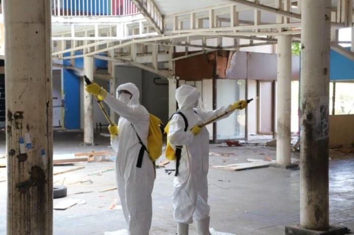 Operação Acolhida realiza desinfectação de abrigos de imigrantes