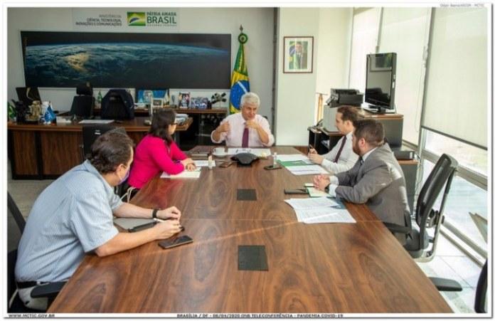 Brasil participa de grupo internacional contra o Covid-19