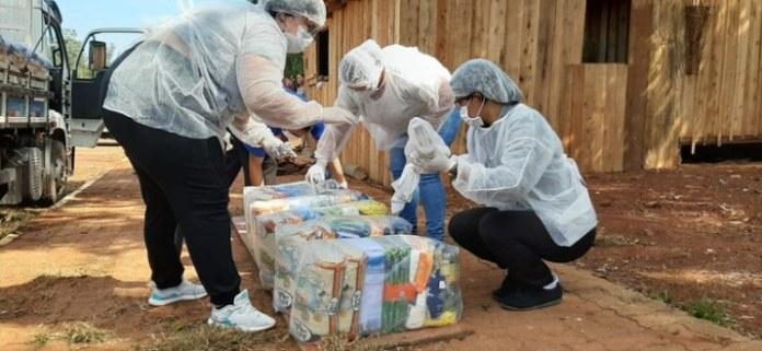 Funai entrega 4,3 mil cestas básicas a aldeias indígenas no Rio Grande do Sul
