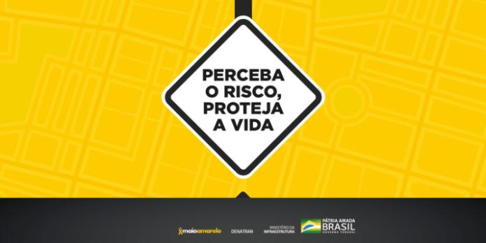 Campanha Maio Amarelo será digital