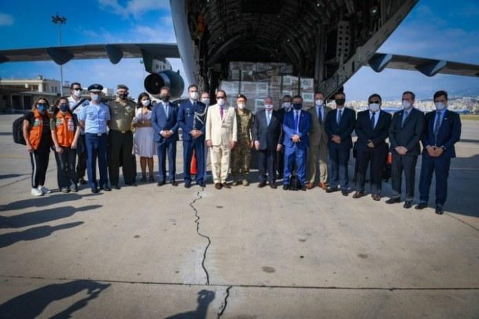 Aviões da missão humanitária brasileira chegam ao Líbano