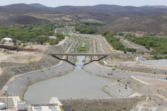 Integração do São Francisco chegará ao Cinturão das Águas do Ceará