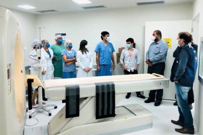 Hospital Universitário de Lagarto inicia operações utilizando tomógrafo