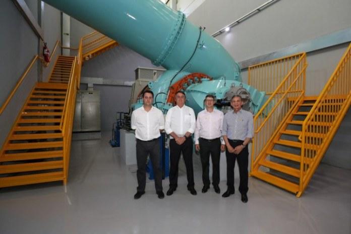 Central hidrelétrica levará energia a mais de 12 mil residências no Paraná
